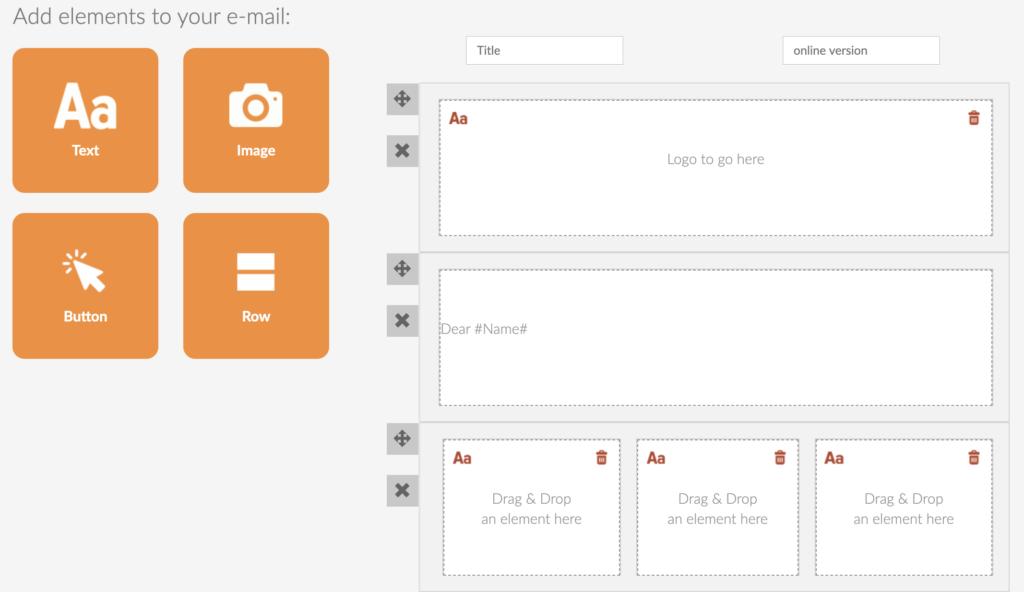 Hyper Hub Email Module Create Email